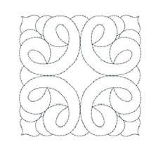 1151:  Machine Embroidery Designs - Quilt Motifs X
