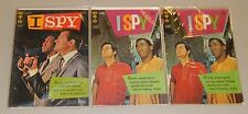 Gold Key 1966 I Spy vintage detective comic lot of issues 1 & 6