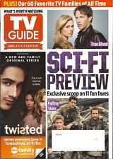 Sci-Fi Preview TV Guide Jun 2013 True Blood Falling Skies Mistresses Aaron Tveit