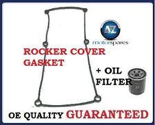 FOR HYUNDAI  i10 1.1 2008->  ROCKER COVER GASKET + OIL FILTER SET *OE QUALITY*