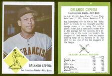 (24570) 1963 Fleer 64 Orlando Cepeda Giants-EM