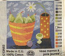 Daisy & Pears - new DMC tapestry canvas