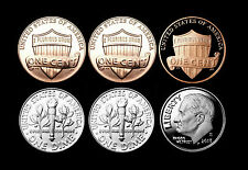 2013 P+D+S Lincoln Shield & Roosevelt Dime Mint Proof Set + PD from Bank Rolls