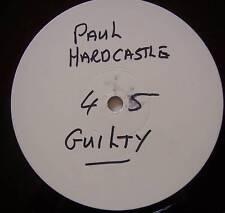"""PAUL HARDCASTLE ~ Gulity ~ 12"""" Single PROMO"""