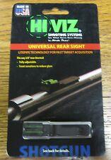 BRAND NEW Hi Viz Hi-Viz Universal Rear Fiber Optic Sight Rifle Shotgun UNI2006