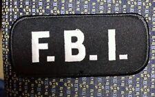 FBI BLACK/WHITE PATCH