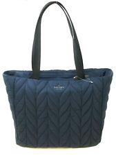 Kate Spade Ellie Large Tote Night Cap Navy Blue Nylon Handbag WKRU5826 $299