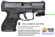 ArmaLaser GTO for H&K VP9sk - GREEN Laser Sight w/ FLX82 Grip Touch Activation