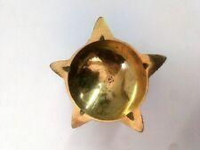 Oil Lamp Brass Religious Hindu Puja Aarti Diya Laxmi Diwali Temple Deepak Light