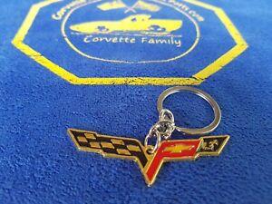 3D Car Keychain Key Chain Metal Keychain Key Ring For Corvette Cruze Malibu Meta