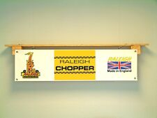 Raleigh Chopper Banner Bicycle Retro 70s LOOK Advertising Sign
