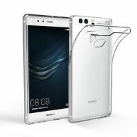 Ultra Slim Transparent Clear Soft Silicone Gel Back Case Skin For Huawei P9
