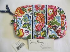 Vera Bradley HOPE GARDEN Medium COSMETIC Jewelry MAKEUP Case FOR  Purse Tote NWT