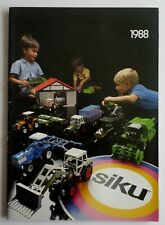 Catalogue SIKU 1988  - Katalog - Catalog - Catalogo