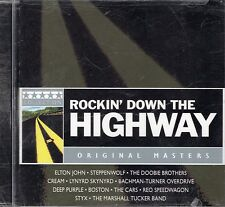 Elton John  Steppenwolf  The Doobie Brothers Rockin Down The Highway CD New