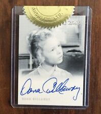 Twilight Zone 2009 Rittenhouse ~ Dana Dillaway ~ Autograph ~ Rare Case Topper