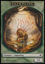 10 Token Cards - SAPROLING - Shards of Alara - SAME ART - NM/SP - Magic MTG FTG