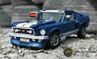US Ford Mustang Car Building Blocks toy Blue Car Model Bricks 1480 pcs