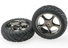 Traxxas [TRA] Bandit Front Tracer Wheels and Anaconda Tires 2479A TRA2479A