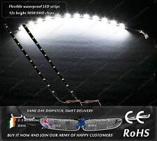 Xenon White Flexible Waterproof LED SMD Strips Daytime Running Lights Bulbs 24V