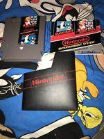Super Mario Bros. Duck Hunt Nintendo Entertainment System 1985 Sleeve Manual Lot