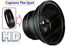 Hi-Def Professional MK III Fisheye Lens With Macro For Sony FDR-AX40 FDR-AX53