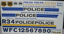 Pursuit Delaware River Port Authority Police Decals