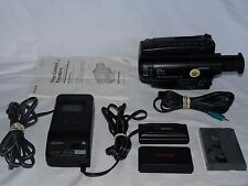 Sony Handycam CCD-TR814 8mm Video8 Camcorder VCR Player Camera Video Transfer