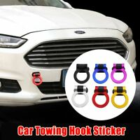 New Universal Car Truck Ring Track Racing Style Tow Hook Look Decoration Black P