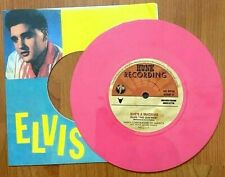 ELVIS PRESLEY – STEPPING OUT OF LINE – SHES A MACHINE – PINK LIMITED VINYL - FTM