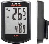 CATEYE Strada Slim Cordless CC-RD310W Cycle Computer Speed Bicycle Bike BLACK
