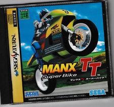 USED Manx TT SEGA SATURN JAPANESE IMPORT