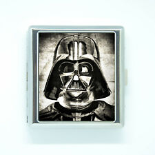 CIGARETTES BOX CASE darth vader star wars card or money holder