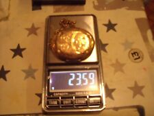 9ct YELLOW GOLD LARGE LOCKET HALLMARKED STUNNING LARGE OVAL LOCKET