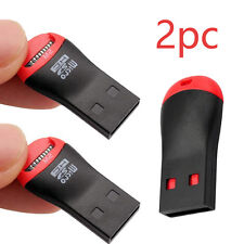 2PCS/Lot Memory Card Reader to USB 2.0 - Adapter for Micro SD SDHC SDXC TF & M2