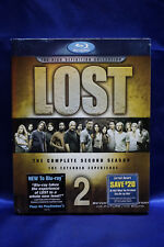 Lost - The Complete Second Season (Blu-ray Disc, 2006, 6-Disc Set)  NEW