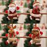Christmas Ornaments Santa Claus Snowman Reindeer Toy Doll Hang XMAS Hanging New