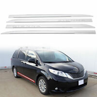 For Toyota SIENNA 2011-2020 ABS outside door body side molding chrome trim