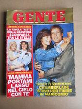 GENTE n°7 1986 Richard Chamberlain Rachel Ward Nino D'Angelo  [G740]