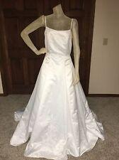 Jasmine Wedding Dress Size 14 White Beaded Ballgown