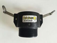 "200B 2"" Banjo Poly Camlock Coupler"