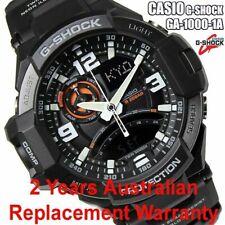 CASIO G-SHOCK MEN GRAVITYMASTER WATCH GA1000-1A BLACK GA-1000-1ADR 2Y WARRANTY