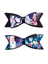 Disney Alice In Wonderland Hair Bow Set of 2 Film Scene Costume Cosplay Pin Clip