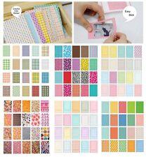 100PCS Retro Color Instant Films Sticker For FujiFilm Instax Mini 8 7s 25 50s US