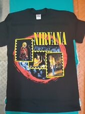 Nirvana T Shirt ~ Kurt Cobain Grunge band Small Adult Nwot 1997