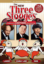 The New Three Stooges: Complete Cartoon Collection NEW (DVD, 2013, 5-Disc Set)