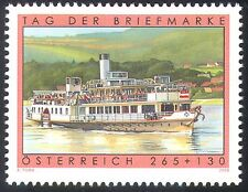 Austria 2008 Stamp Day/Schonbrunn/Paddle Steamer/Ships/Boats/Transport 1v n42188