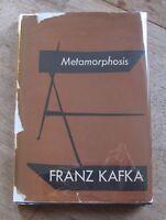METAMORPHOSIS by Franz Kafka - 1st/2nd printing - Vanguard HCDJ 1946 - $2.75
