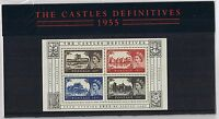 GB Presentation Pack 69 2005 Castle Definitives Miniature Sheet