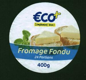 Etiquette de Fromage fromage fondu 24 portions Eco simplement bien